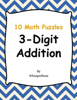 3-Digit Addition Puzzles