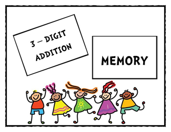 3-Digit Addition Memory