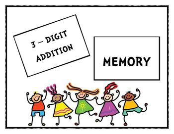 3-Digit Addition Memory