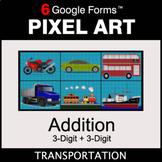 3-Digit Addition - Pixel Art Math   Google Forms