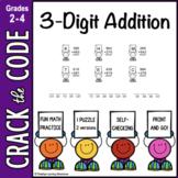 3-Digit Addition Practice: Crack the Code!