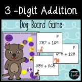 3-Digit Addition Puppy Board Game