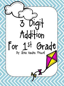 3 Digit Addition Sample