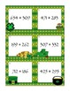 3-Digit Addition Scoot: St. Patrick's Day