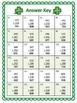 St. Patrick's Day SCOOT - 3-digit Addition FREEBIE