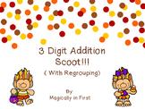 3 Digit Addition Scoot - Trolls! {English and Spanish}