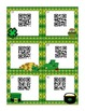 3-Digit Addition Scoot with QR Codes: St. Patrick's Day