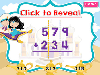 Addition with 3 Digit Numbers Smartboard