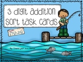3 Digit Addition Sort Task Cards