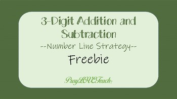 3 Digit Addition/Subtraction
