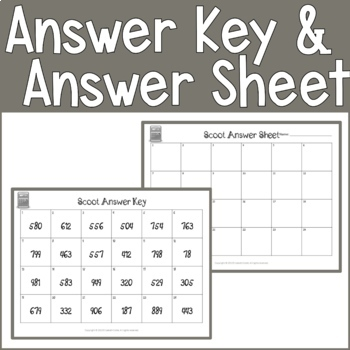 3 Digit Addition & Subtraction SCOOT Task Cards With & W/O Composing/Decomposing