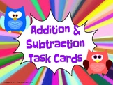 3 Digit Addition & Subtraction Task Cards