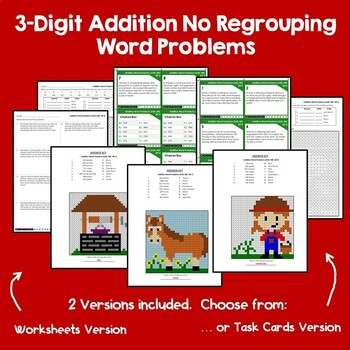 3-Digit Addition & Subtraction Without Regrouping
