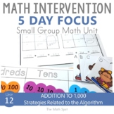 3 Digit Addition With Regrouping Activities | Small Group