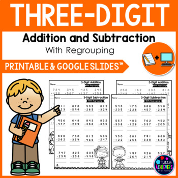 3 Digit Addition With Regrouping Worksheets