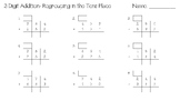 3-Digit Addition With Regrouping in the Tens Place Worksheet