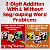 Math Manipulative For 3-Digit Addition Story Problem Strategies Coloring Sheets