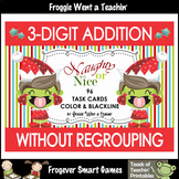 3-Digit Addition Without Regrouping -- Naughty or Nice