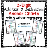 3-Digit Addition and Subtraction Anchor Charts