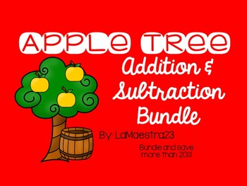3 Digit Addition and Subtraction Apple Tree Bundle