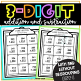 3 Digit Addition and Subtraction Set 1