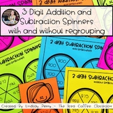 3 Digit Addition and Subtraction Spinners