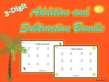 Addition and Subtraction Regrouping NO PREP