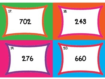 3-Digit Addition and Subtraction Task Cards