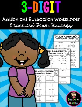 3-Digit Addition and Subtraction Worksheets with and without Regrouping