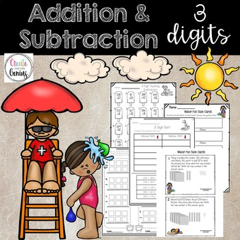 3 Digit Addition and Subtraction bundle pack