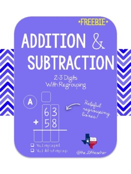 3 Digit Addition, Subtraction, and Mixed Practice with ...