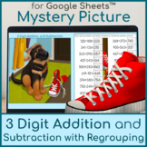 3 Digit Addition and Subtraction with Regrouping | Mystery