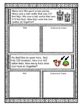 3-Digit Addition and Subtraction with Regrouping and Inverse Operation