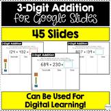3-Digit Addition for Google Slides (Differentiated) | Dist
