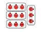 3 Digit Addition with Ladybugs
