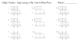 3-Digit Addition with Regrouping in the Tens and Ones Place Worksheet