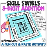 3-Digit Addition Worksheet Alternative With & Without Regrouping