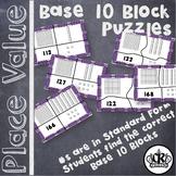3 Digit Base Ten Block Place Value Puzzles