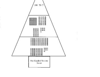 3 Digit Christmas Tree Puzzle