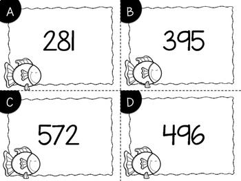 3 Digit Expanded Form Task Cards {Print & Go + Digital}