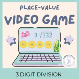 4th Grade Division Game with 3 Digit Dividends | Video Game