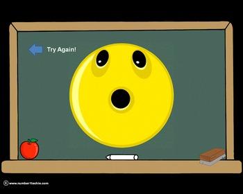3 Digit Minus 3 Digit NO Regrouping-PowerPoint Quiz - Matching Worksheet & Key!