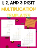 3-Digit Multiplication Template
