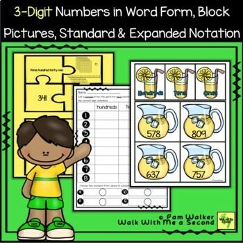 3-Digit Number Place Value
