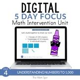 3 Digit Number Place Value to 1,000 | 2nd Grade Digital Math Unit