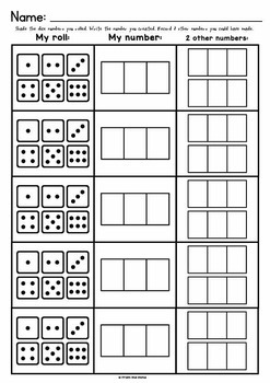 3 Digit Numbers {Find a Number Game}