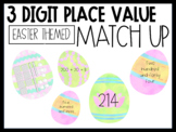 3 Digit Place Value Easter Eggs
