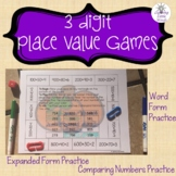 3 Digit Place Value Games
