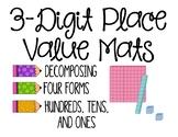 3 Digit Place Value Mats