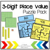 3-Digit Place Value Puzzle Pack!